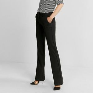 Express the editor flare dress pants